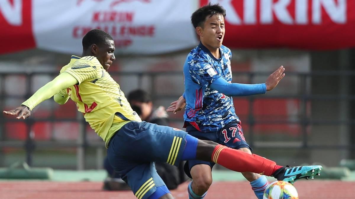 La Selección Sub 23 vence a Japón en partido amistoso - AS Colombia