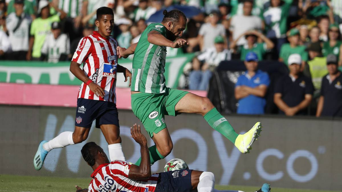 Nacional - Junior en vivo online: Cuadrangulares, Liga Águila II - AS