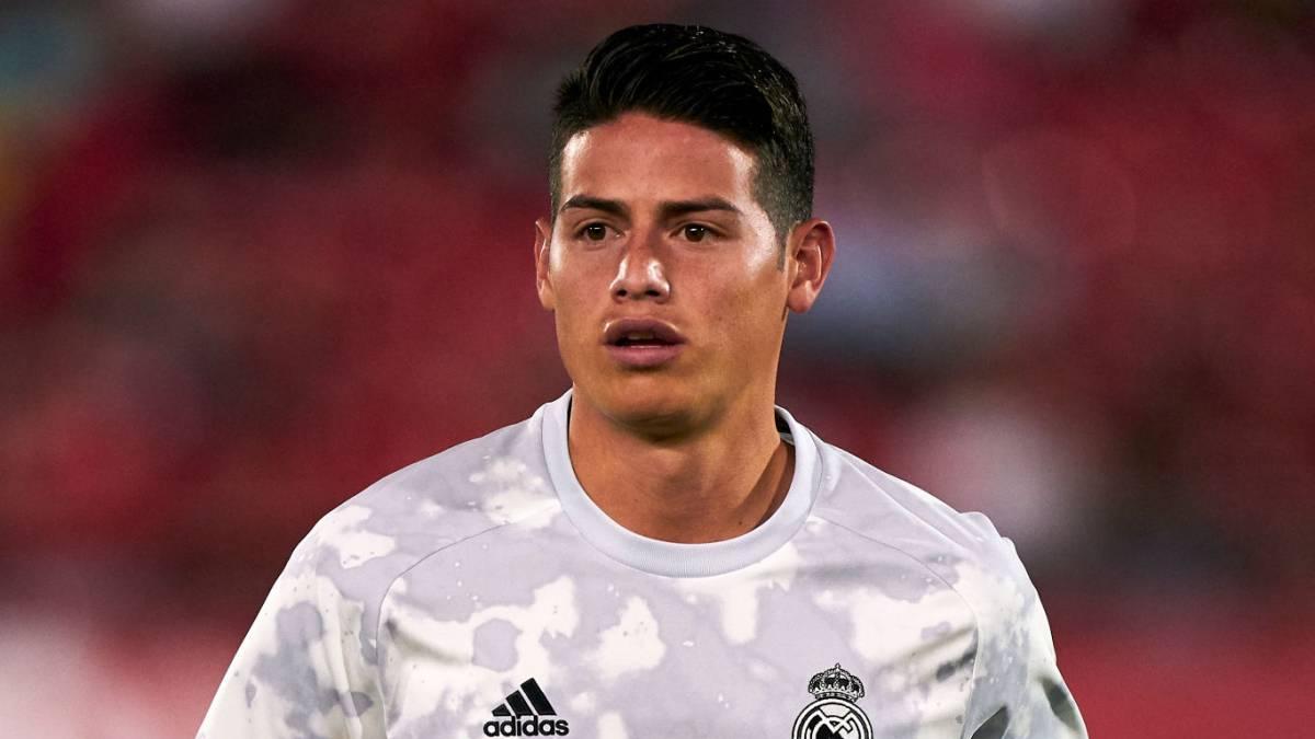Oficial: James sufre esguince del ligamento de la rodilla - AS Colombia