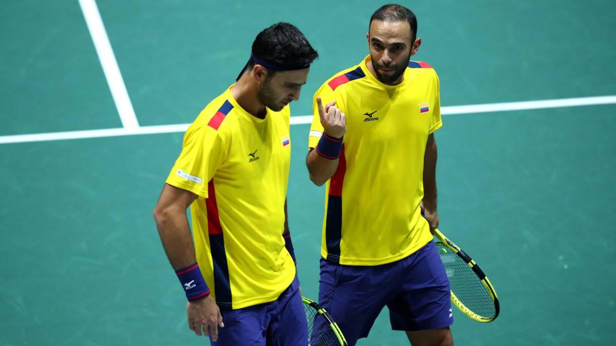 ¿Qué sigue para el equipo colombiano de Copa Davis? - AS Colombia