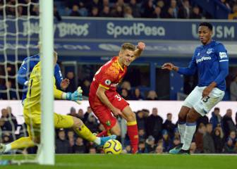 Everton pierde ante Norwich con Yerry Mina en cancha