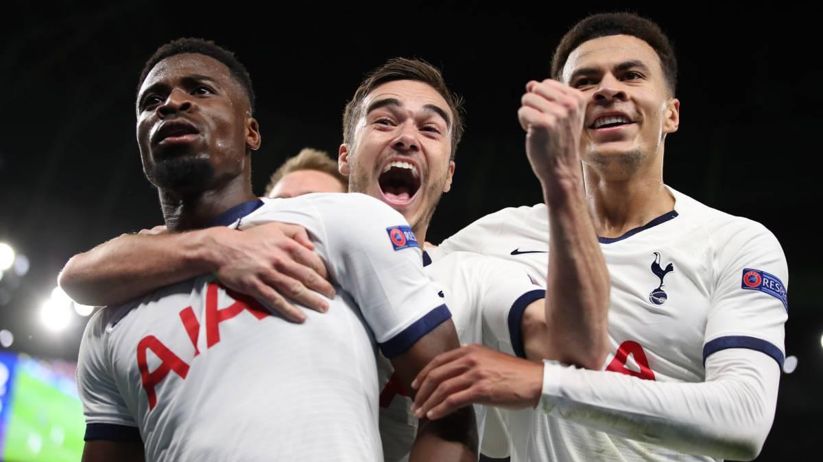 Tottenham y Davinson Sanchez, a octavos de Champions League - AS Colombia