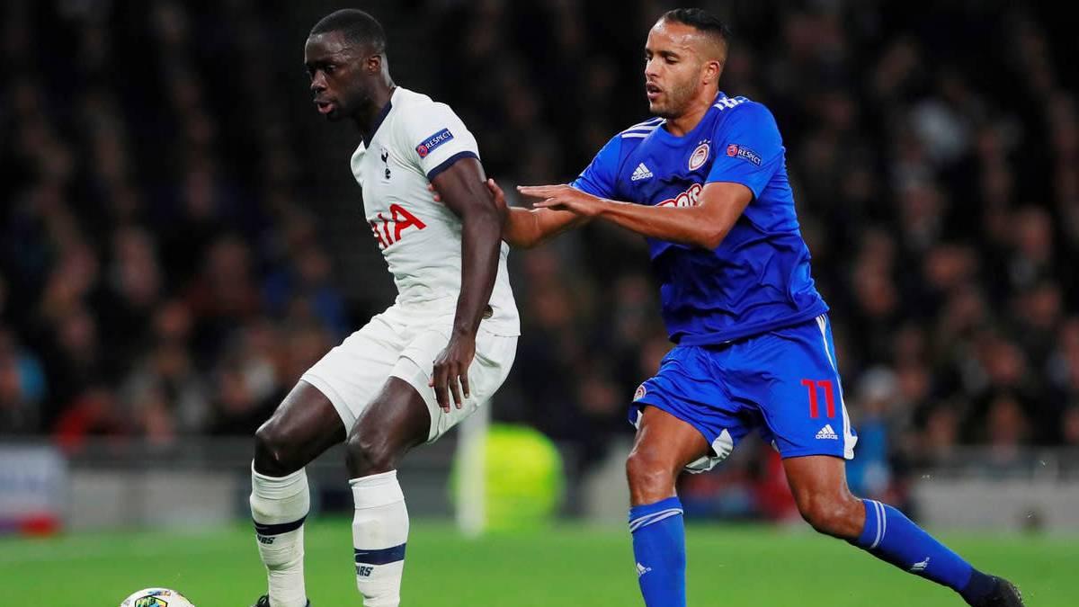 Davinson, de los mejores del Tottenham ante Olympiacos - AS Colombia