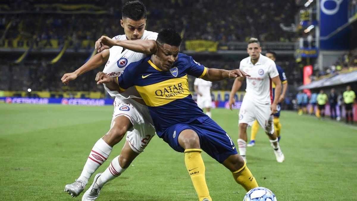 Boca Juniors, con Fabra titular, empata y se mantiene líder - AS Colombia