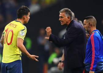 Queiroz told James Rodríguez to leave Real Madrid