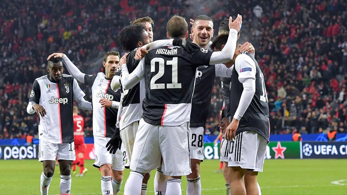 Con Cuadrado 93', Juventus vence al Leverkusen por Champions - AS Colombia