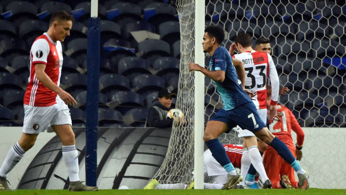 Luis Díaz abre el triunfo y la clasificación del Porto a 16vos - AS Colombia