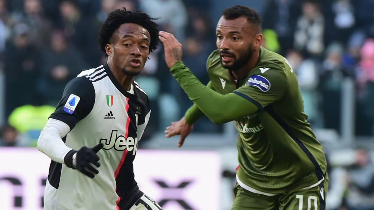 Con Juan Guillermo Cuadrado, Juventus se impone ante Cagliari - AS Colombia