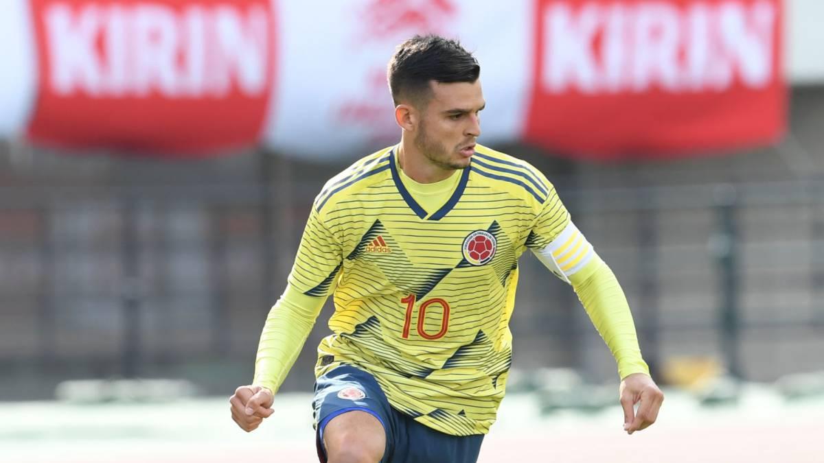 Benedetti con el 10, Carrascal con el 8... Los dorsales de la Sub 23 - AS Colombia