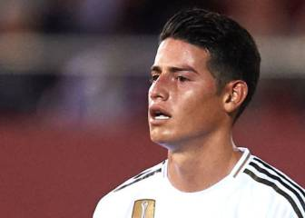 James, fuera de la convocatoria de Real Madrid ante Sevilla