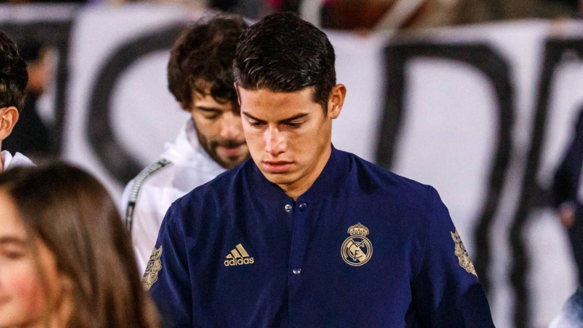 James se queda en el banco en el triunfo del Real Madrid - AS Colombia