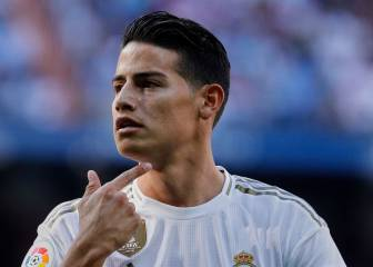 James, convocado para el derbi