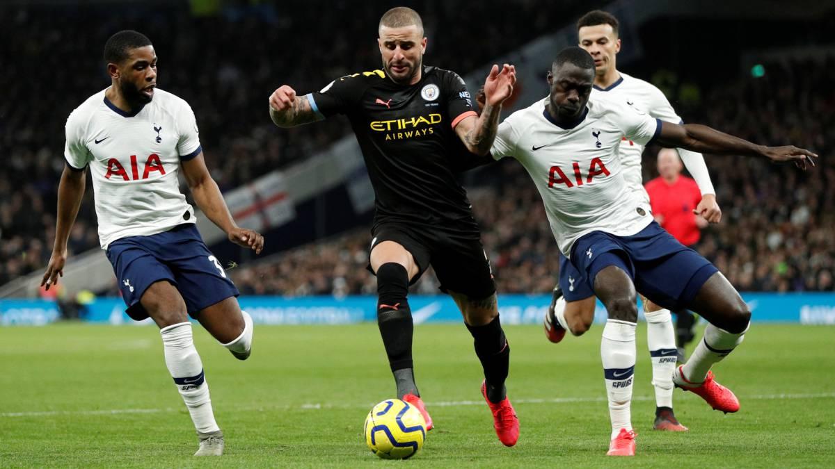Davinson, clave en victoria de Tottenham ante el City de Pep - AS Colombia