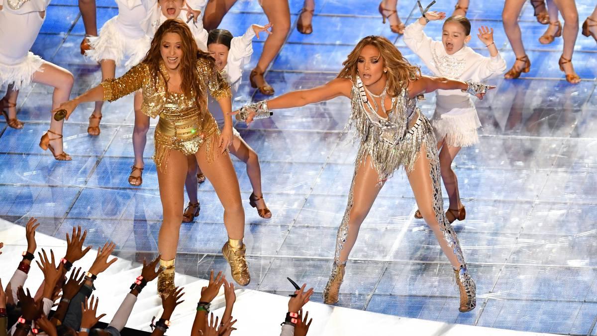 Super Bowl: Shakira se luce en el show de medio tiempo - AS Colombia