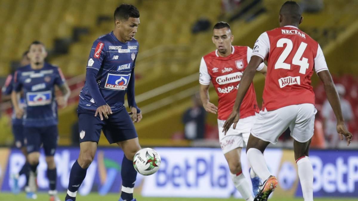Santa Fe 2 - 1 Junior: Resultado, resumen y goles - AS Colombia