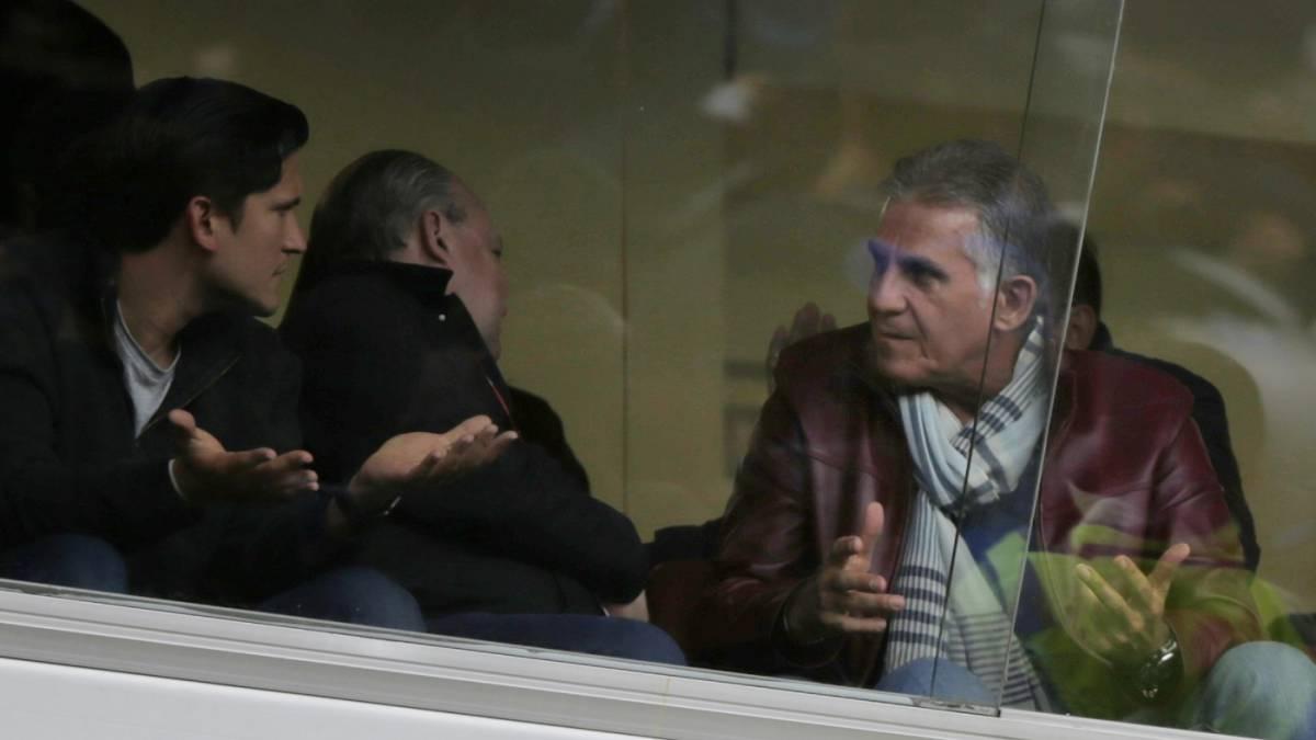 Queiroz vuelve a ver a Uribe y Díaz previo a Eliminatorias - AS Colombia