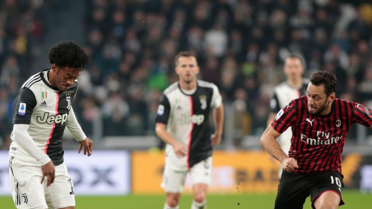 Milan - Juventus: Horario, TV y cómo ver online Copa Italia - AS Colombia