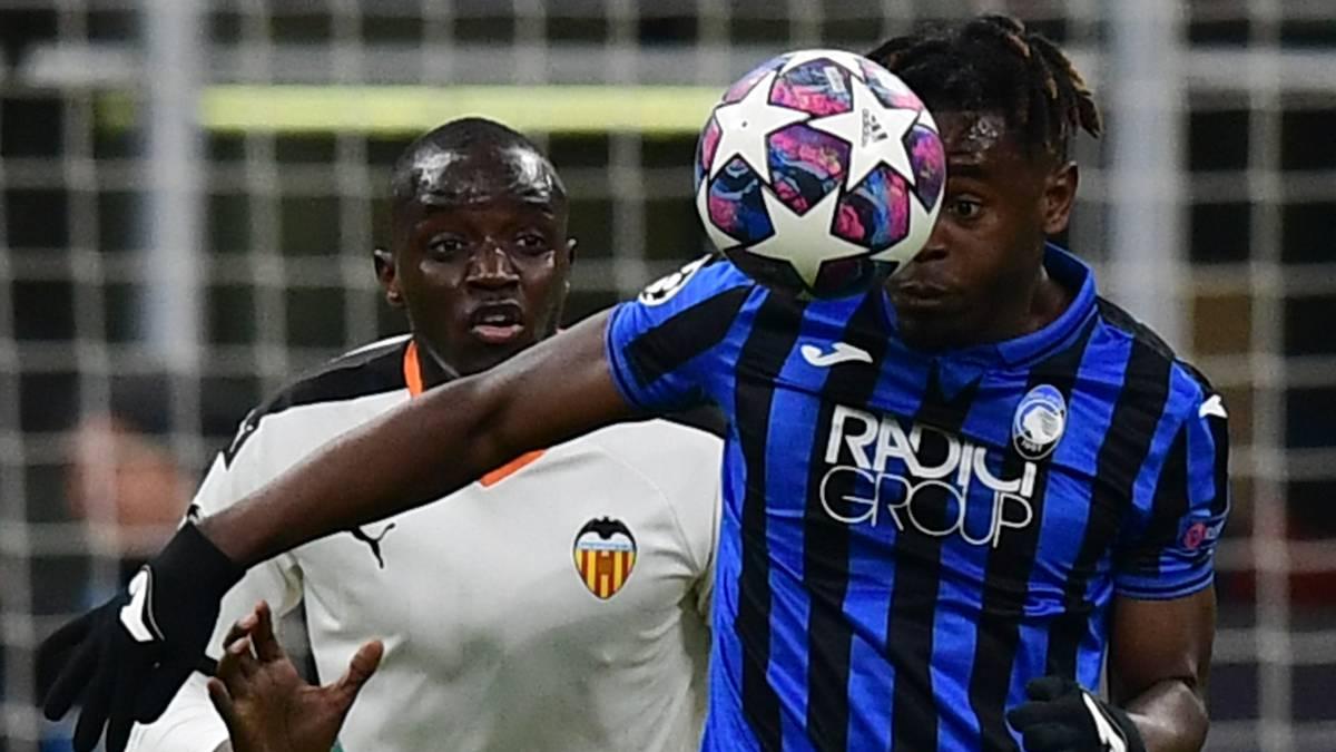 Atalanta golea a Valencia y Duván entra en el final - AS Colombia