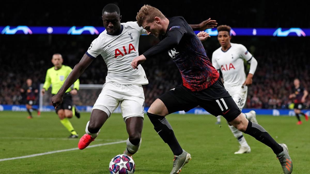 Con Davinson, Tottenham pierde ante el Leipzig en Londres - AS Colombia