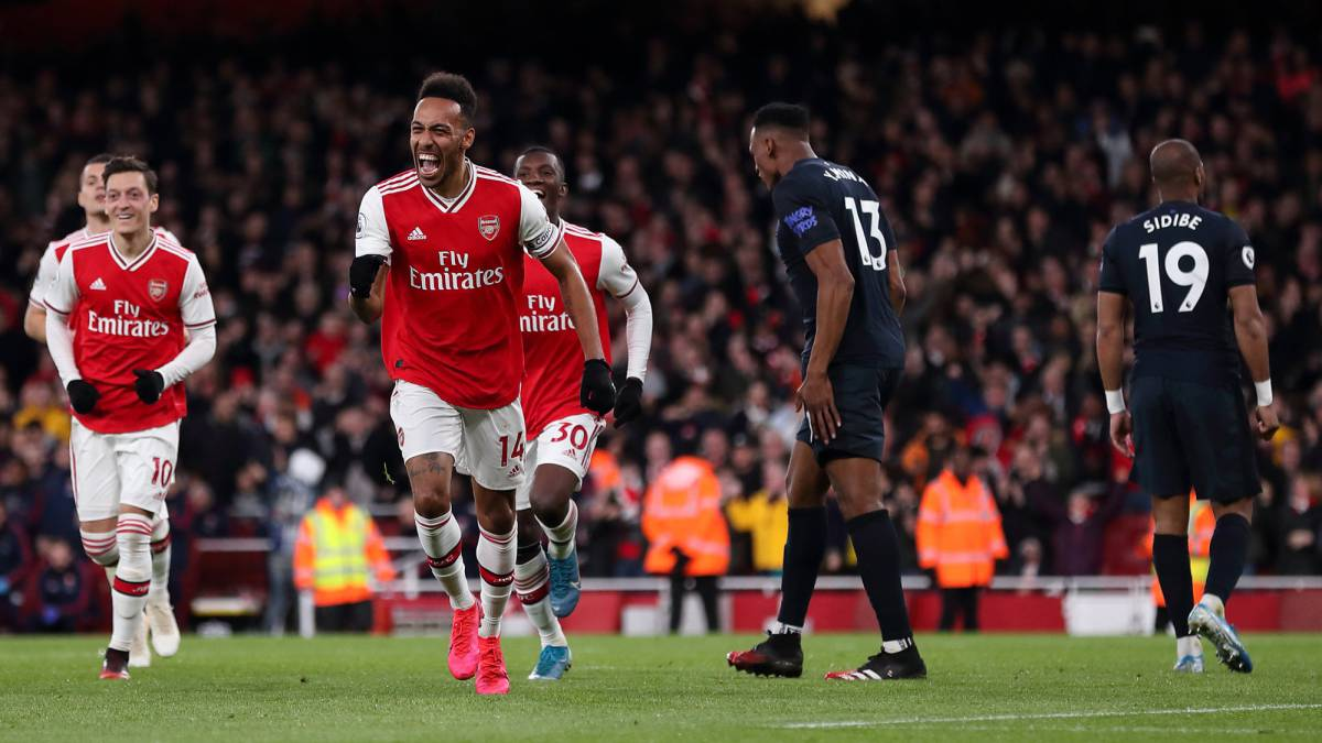 Yerry Mina, presente en derrota de Everton ante Arsenal - AS Colombia