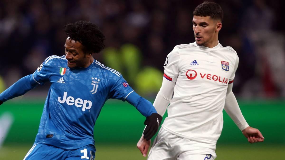 Poco de Cuadrado en la derrota de Juventus en Lyon - AS Colombia