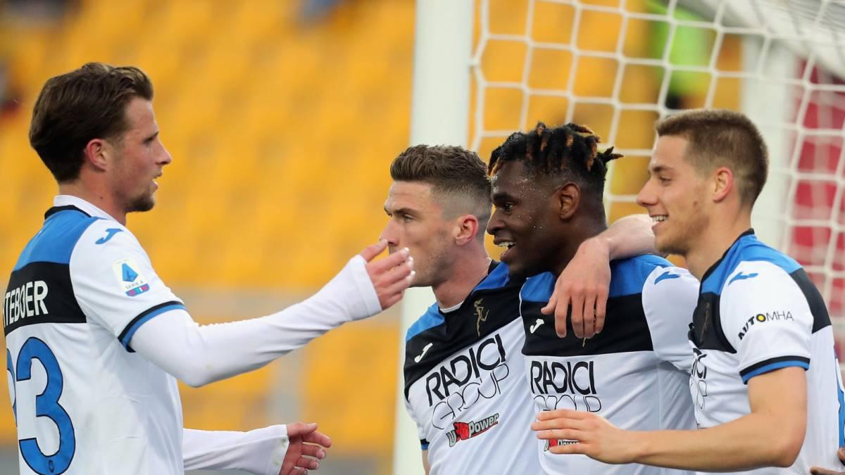 Atalanta aplasta a Lecce con triplete de Duván y uno de Muriel - AS Colombia