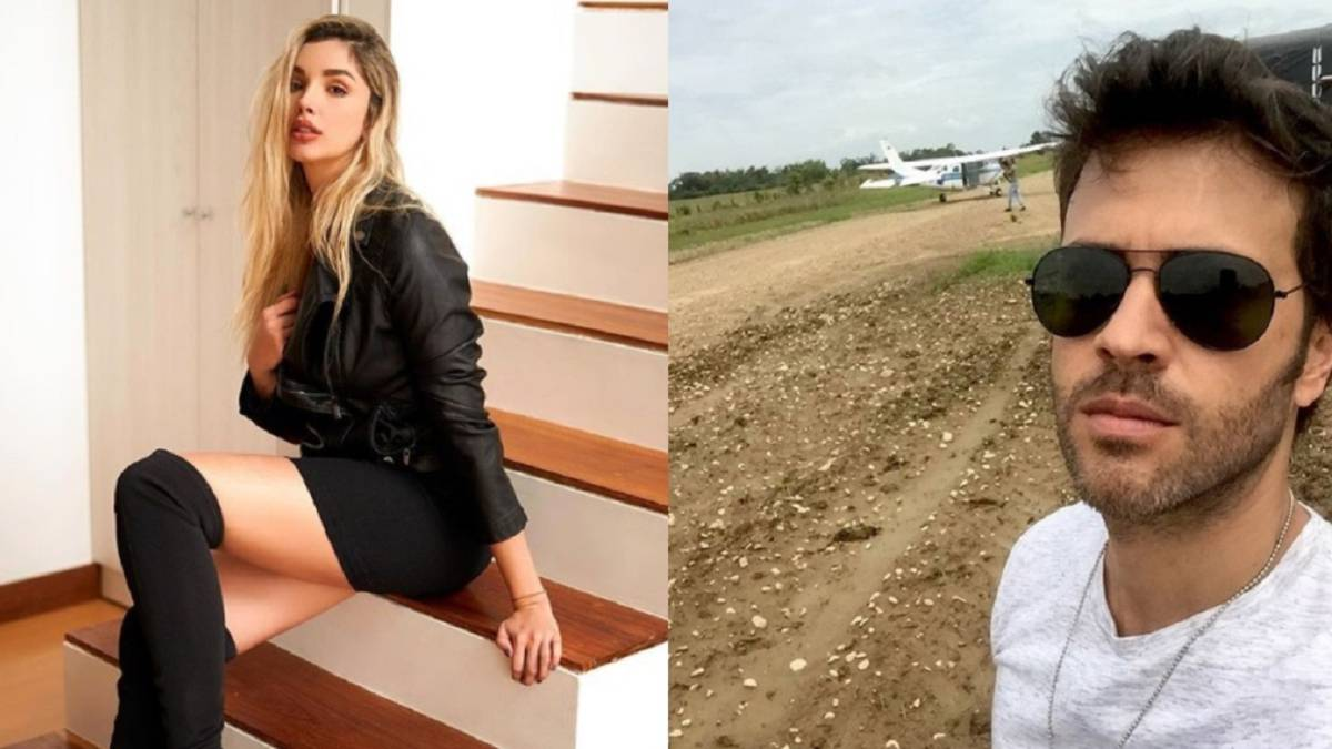 Melina Ramirez Y Juan Manuel Mendoza Estan De Vacaciones As Colombia