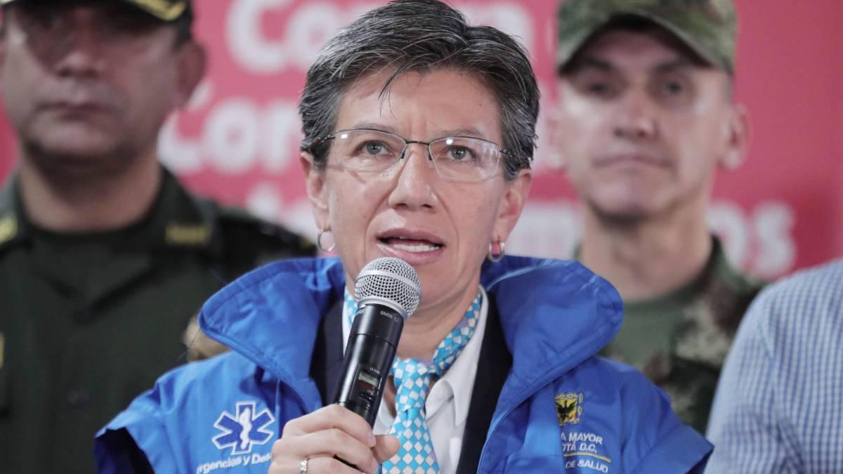Cuarentena en Bogotá: Alcaldesa anuncia medidas y sanciones - AS ...