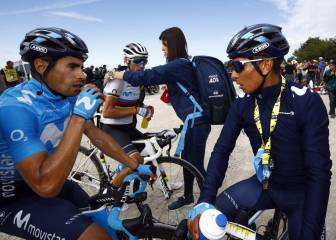 Nairo, protagonista de la serie documental del Movistar Team