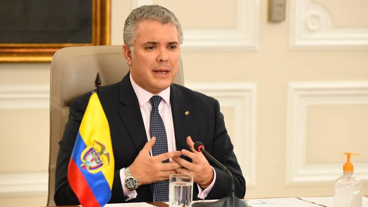 Coronavirus en Colombia: así fue la intervención del presidente ...
