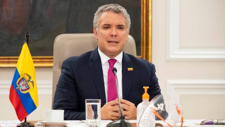 Coronavirus en Colombia: Así fue la conferencia del presidente Duque hoy, 8  de mayo - AS Colombia