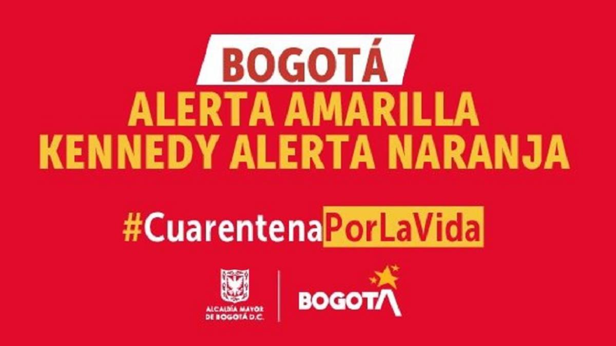 Cuarentena en Bogotá: ¿cuáles son las zonas y barrios de Kennedy que entran en alerta naranja? - AS Colombia