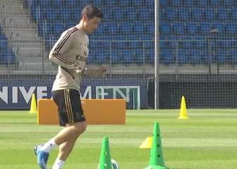 James y Real Madrid vuelven a entrenamientos