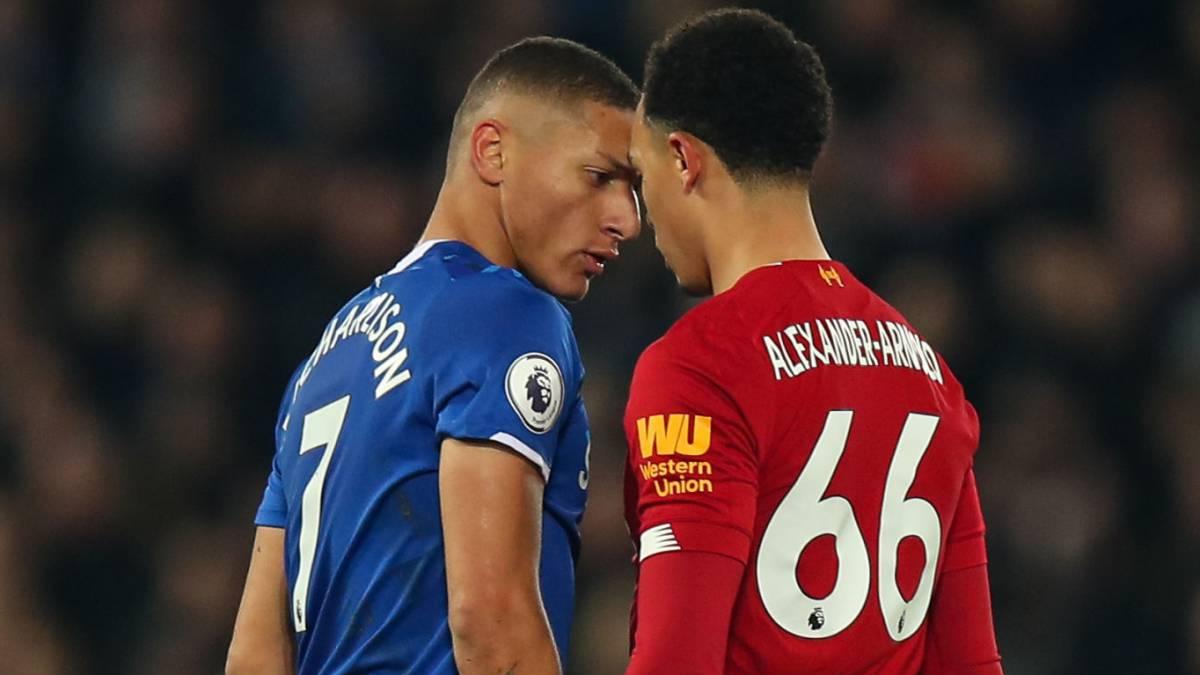 Everton - Liverpool: horarios, TV y cómo ver online la Premier League - AS Colombia