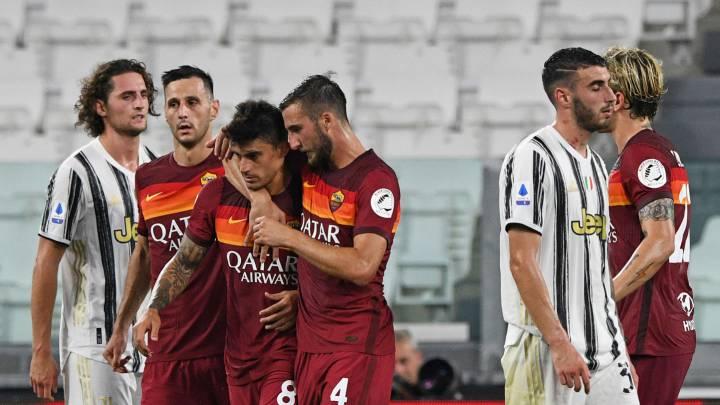 Juventus 1 3 Roma Resultado Resumen Y Goles As Colombia