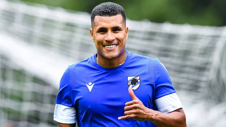 Jeison Murillo, defensa central de Sampdoria.
