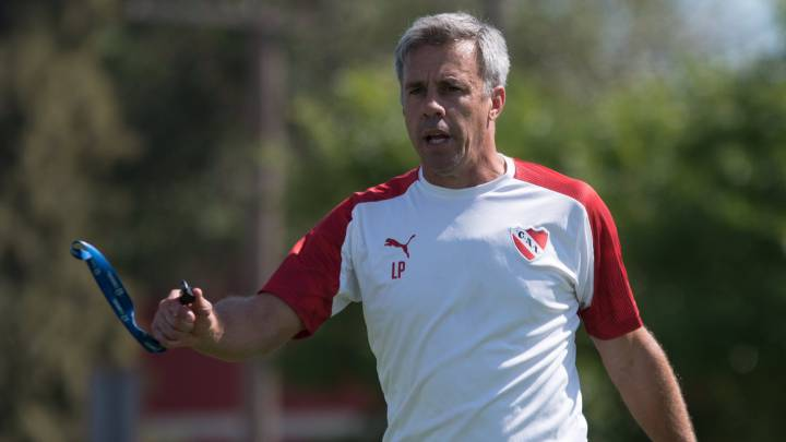 Lucas Pusineri, director técnico de Independiente