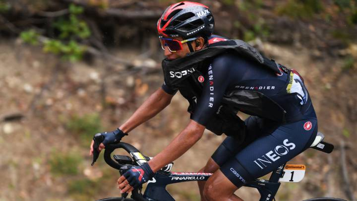 Egan Bernal en el Tour