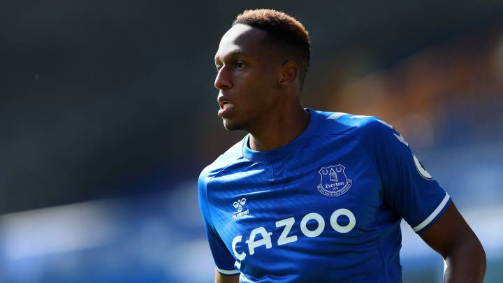 Yerry Mina, defensa central del Everton