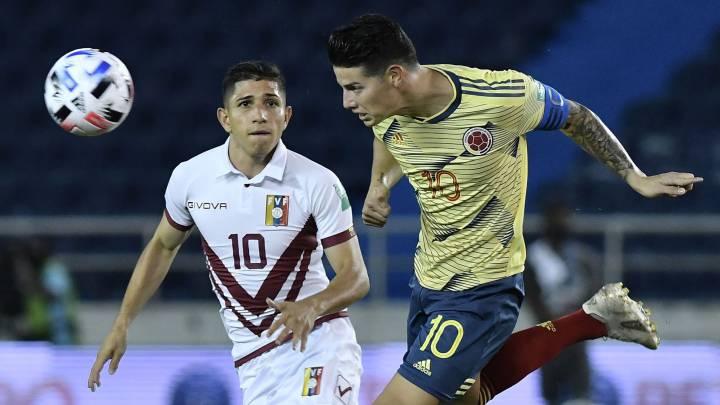 Colombia 3 0 Venezuela Resultado Resumen Y Goles As Colombia