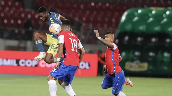 Chile 2-2 Colombia: resultado, resumen y goles - AS Colombia