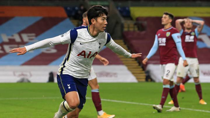 Tottenham - Burnley en la Premier League