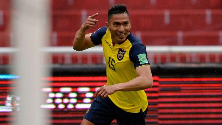 Ángel Mena, la figura del partido Ecuador vs. Colombia - AS Colombia
