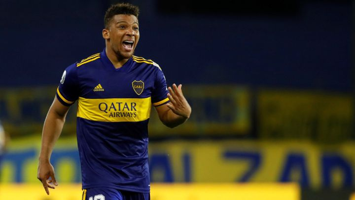 Frank Fabra, defensa de Boca Juniors