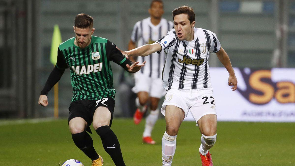 La Juventus se impone al Sassuolo (1-3) pero sigue fuera de la Champions