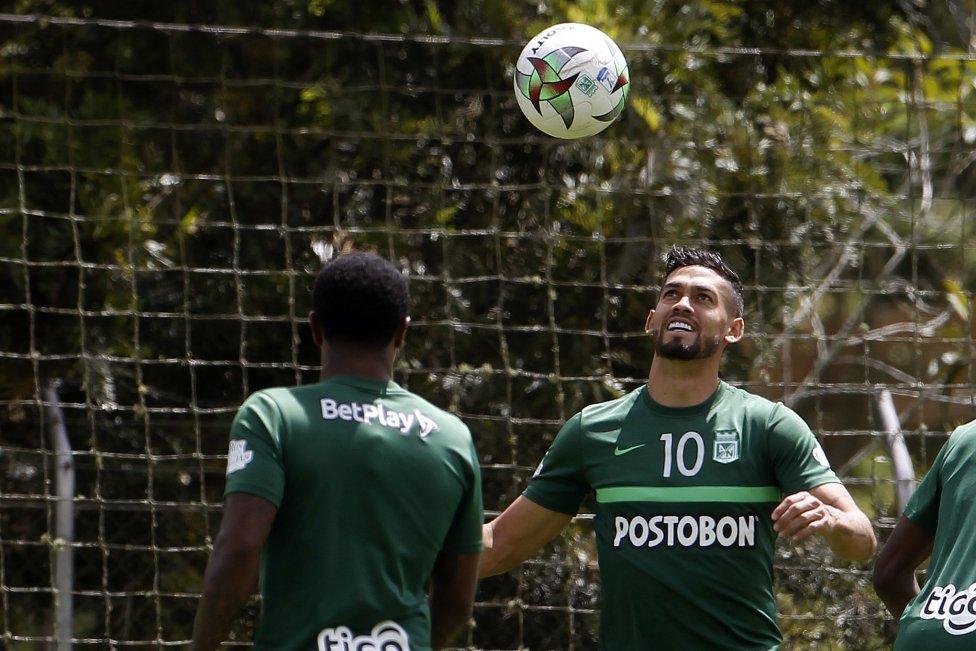 Nacional permitió el ingreso de la prensa a la práctica del día antes de enfrentar a Santa Fe este miércoles por la vuelta de los cuartos de final de la Copa BetPlay en el que tendrá que remontar un 2-1 en contra para continuar en la competencia.