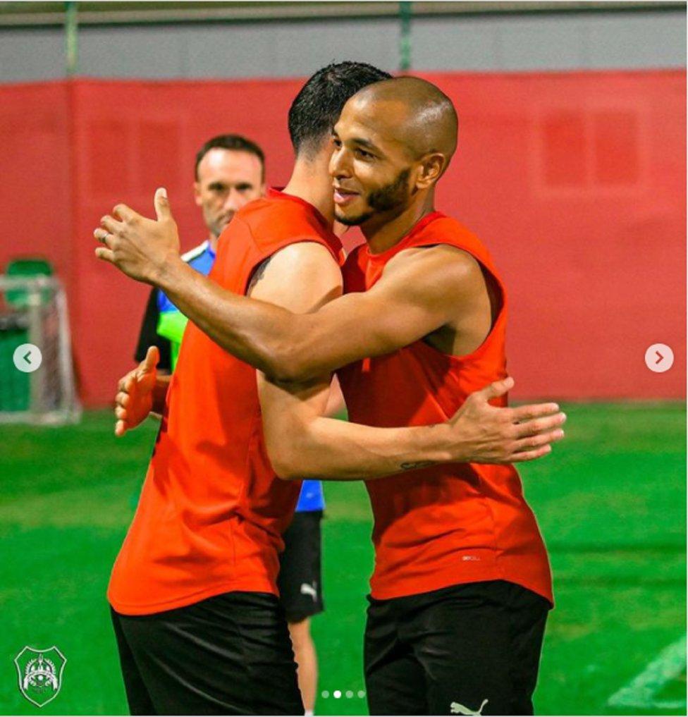 En imágenes: Primera práctica de James con Al Rayyan