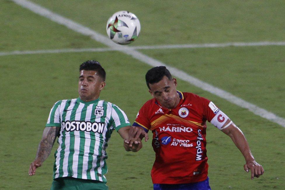 Partidazo en el Atanasio Girardot entre Atlético Nacional y Deportivo Pasto. Un error de Sebastián Gómez en la salida no le permitió al equipo antioqueño celebrar y seguir acercándose a la clasificación.