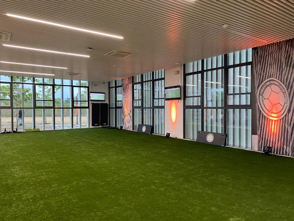 Inauguración de la nueva sede deportiva de la FCF en Barranquilla.