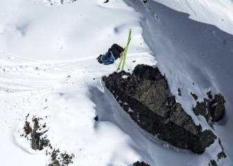 Espectáculo en el fin de fiesta del Freeride World Tour en Vallnord